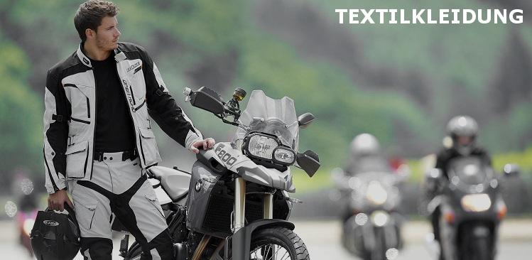 Textilkleidung fuer Motorradfahrer