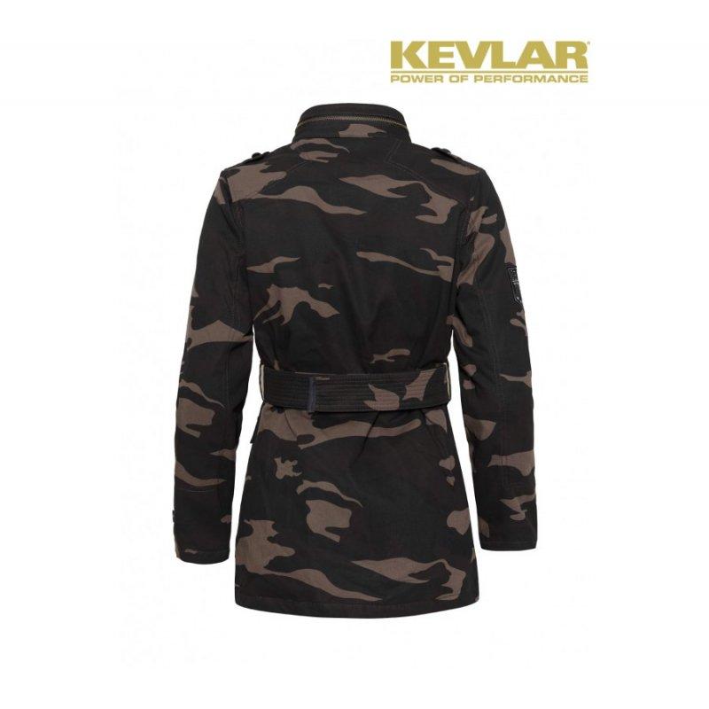 john doe fieldjacket kevlar motorradjacke damen camouflage. Black Bedroom Furniture Sets. Home Design Ideas