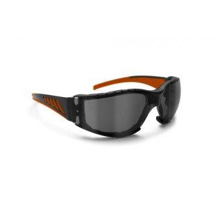 Bertoni AF149HD1 Sonnenbrille Schwarz/Orange rLBeuBRd